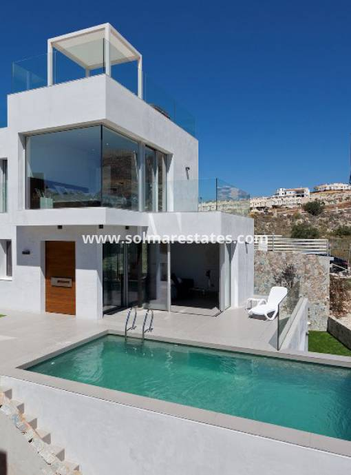 Detached Villa - New Build - Finestrat - Balcones de Finestrat