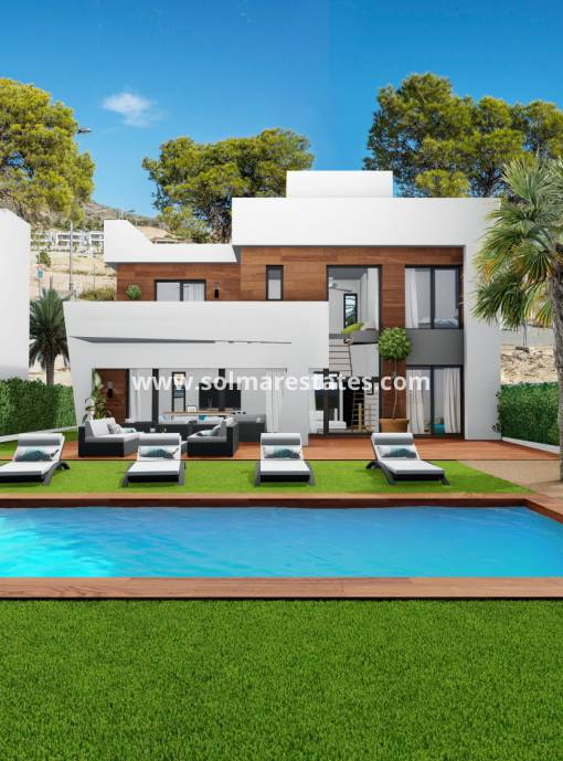 Detached Villa - New Build - Finestrat - Campana Garden