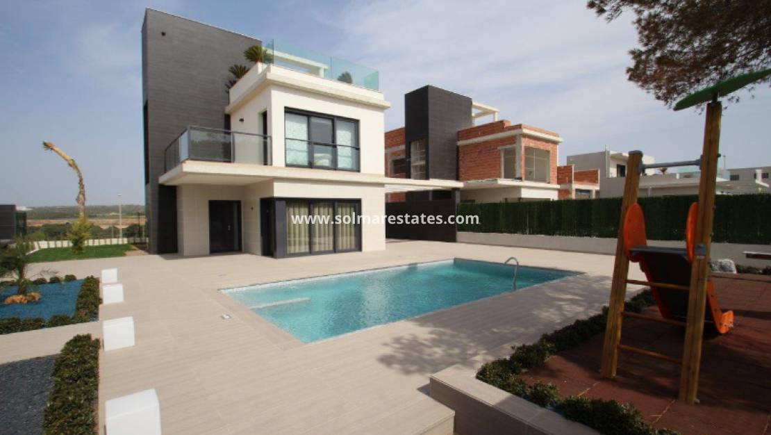 New Build - Detached Villa - Campoamor - Beachside Campoamor