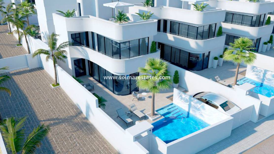 New Build - Detached Villa - La Marina - Marina Villas