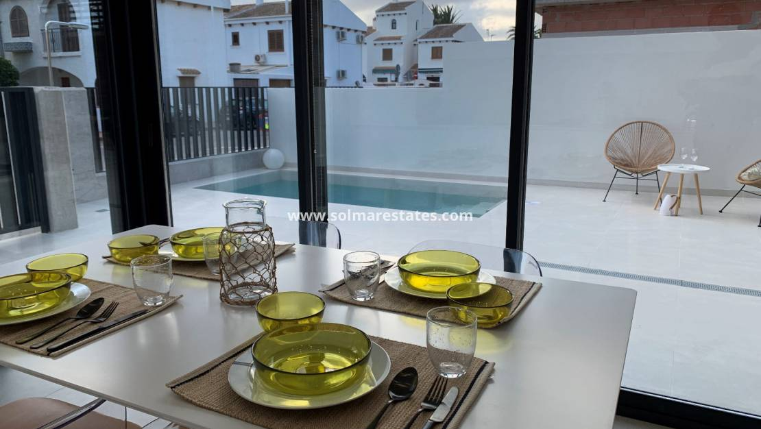 New Build - Quad House - Santiago de la Ribera - Villas Barnuevo