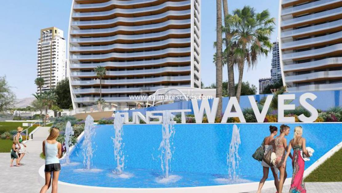 Nouvelle construction - Appartement - Benidorm - Sunset Waves