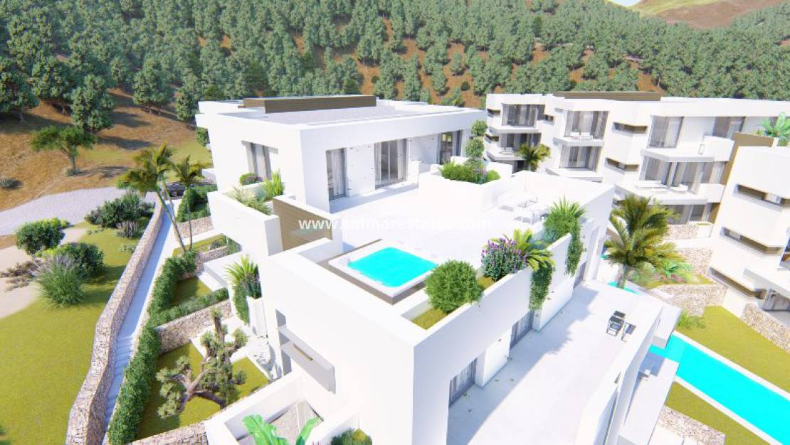 Nouvelle construction - Appartement - La Manga Club - Las Orquideas
