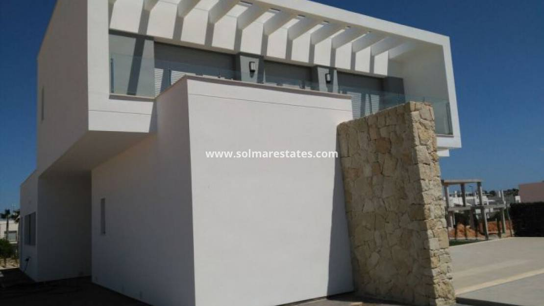 Nouvelle construction - Villa individuelle - Los Montesinos - Vistabella Golf