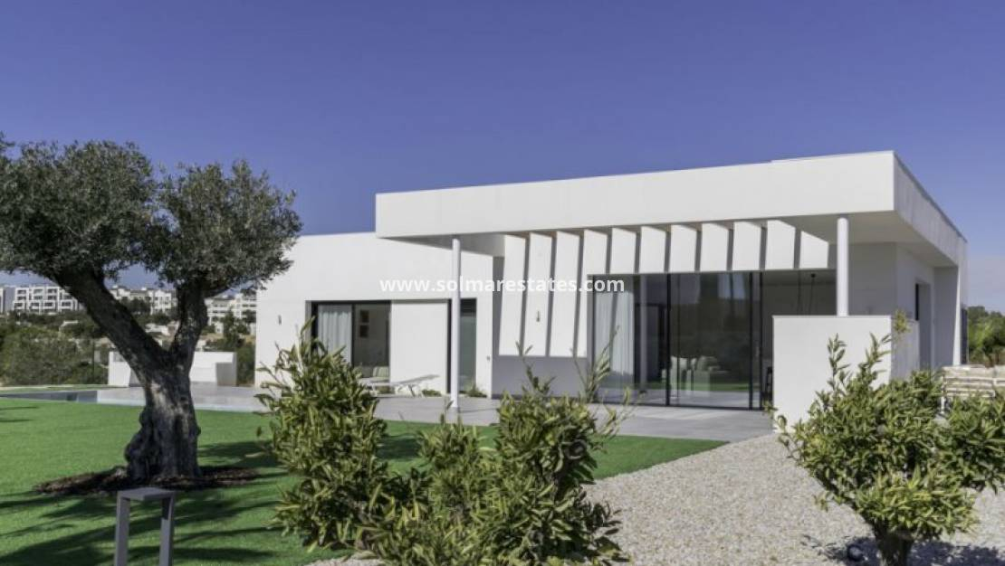 Nueva construcción  - Villa independiente - Campoamor - Las Colinas Golf and Country Club