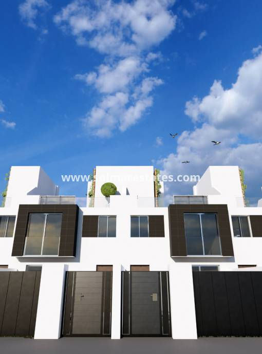 Town House - New Build - Santiago de la Ribera - Res. Azucena del Mar