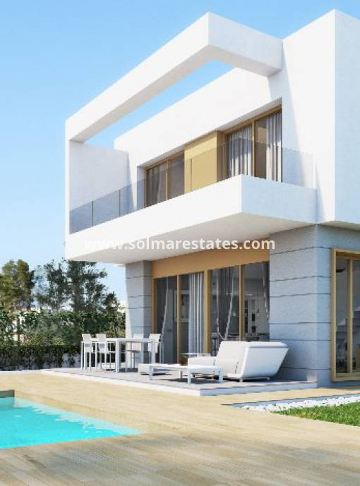 Villa individuelle - Nouvelle construction - Los Montesinos - Vistabella Golf