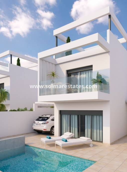 Villa individuelle - Nouvelle construction - San Javier - Roda Golf & Beach Resort